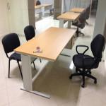 Secretária linha express mobiliário de escritório 01