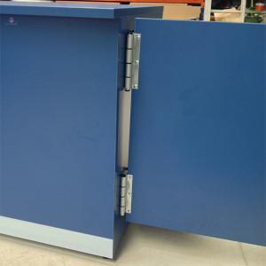 Balcão reto montagem de porta de balcão