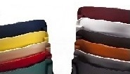 Encosto e Assento: Polipropileno Preto, Azul, Bordeaux, Laranja, Amarelo, Verde Escuro, Vermelho, Cinza ou Antracite