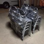 205_Montagem cadeiras fixas 4 pés