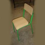 303_Montagem cadeiras escolar