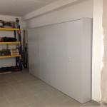 406_Montagem armário contabilidade portas de bater chapa cinza