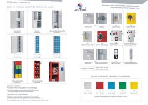 Armários vestiários metálicos com fechaduras para portas vestiários
