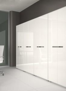 Armário melamina com porta bater lacado mobiliário de escritório