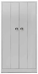 Armário contabilidade metálico portas de Harmónio com fechadura