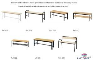 Banco balneario varios modelos baltexport
