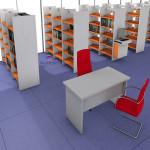 Biblioteca Estanteria metálica493