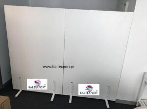 Biombo modular separador divisor de escritorio
