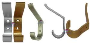 Cabide em alumínio para régua de cabides B623