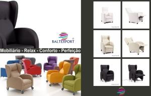 Cadeirão Relax Mobiliário Geriatria