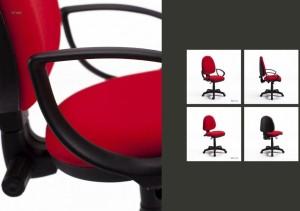 Cadeira de escritório rodada Star