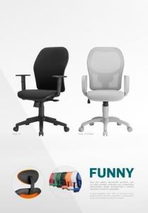 Cadeira de Escritório Funny Rede  Mobiliário de Escritório_00