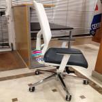Cadeira direção Player rede branca_504