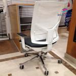 Cadeira direção Player rede branca_505