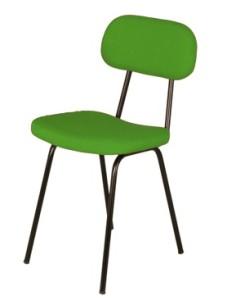 Cadeira fixa 4 pés multiusos