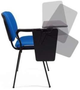 Cadeira formacao com palmatoria direita e esquerda almofadada