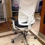Cadeira rodada play rede branca 579