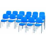 Cadeira visitante 4 pés tecido494