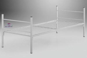 Cama metálica para estaleiro 1900x800mm mobiliario de escritorio