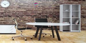 Endow Mesa de reunião redonda