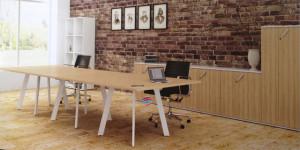 Endow Mesa de reunião retangular