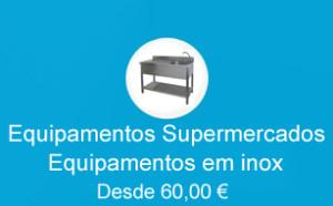 Equipamentos Supermecados, Supermercados Lojas, Estantes supermercado, Mobiliario material em inox