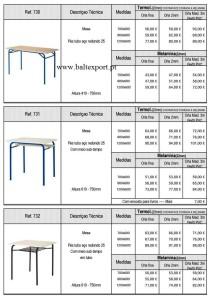Mobiliário Escolar e Formação