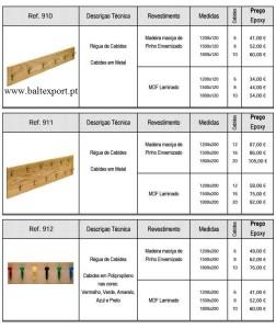 Cabides para balneario Mobiliário Escolar e Formação
