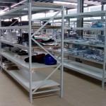 Estante carga média para peças auto