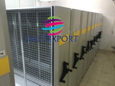 Estantes Rolantes - Sistema de estantes móveis compactas metálicas_02