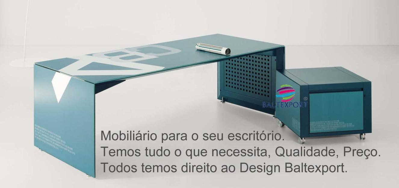 Linha Mobiliario escritorio BB cor azul