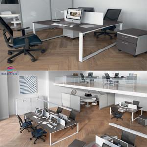 Linha kuatrO - Kclose mobiliário de escritório Baltexport