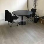Mesa reunião redonda 1100x750mm 567