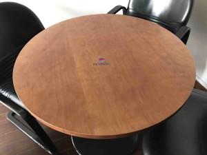Mesa reuniao redonda 1000x750 madeira cerejeira mesa sala de reuniões para sala escritório
