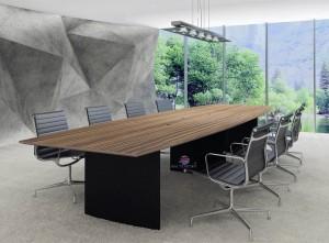 Mesa reuniao reta mesa de reuniões para escritório