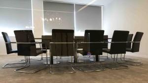 Mesa reuniao semi oval madeira cerejeira mesa de reuniões 3500x1500x750 para escritório mobiliário