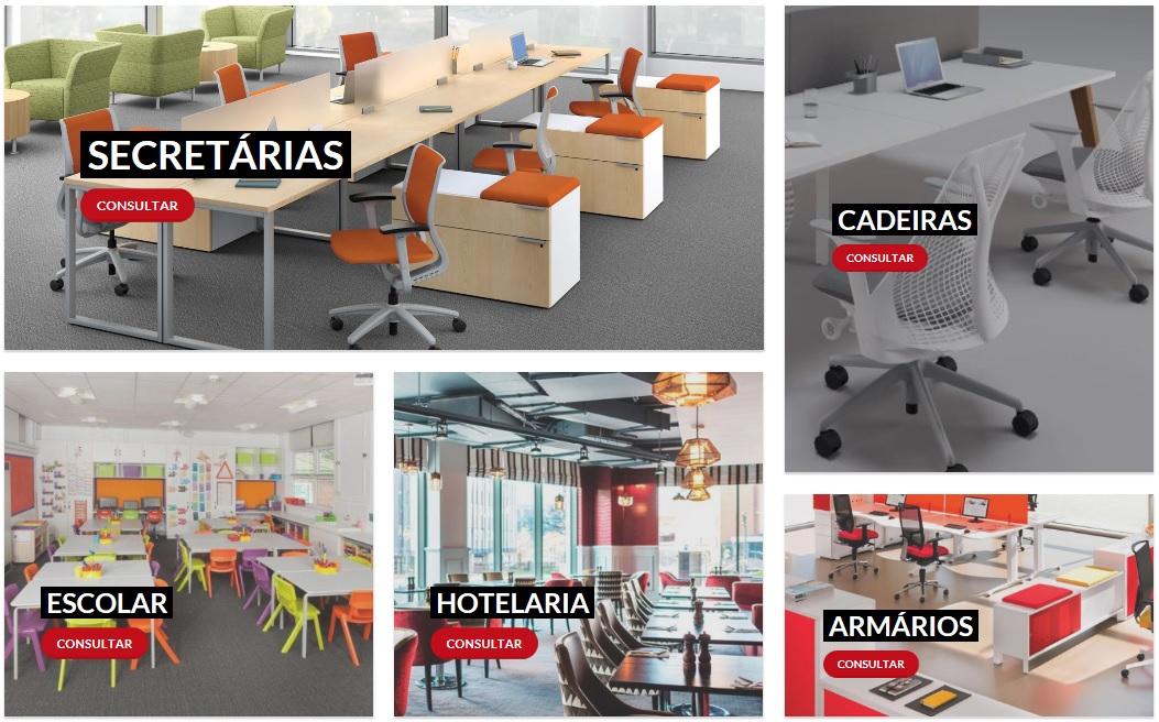 Mobiliario de escritorio - Baltexport Loja