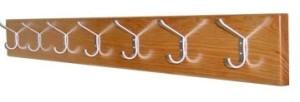 Régua de cabides madeira de pinho