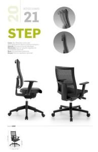 STEP - Cadeiras de Escritório Operativa Estofada_01