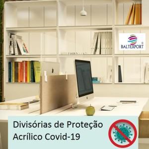 Tabela de preços das Divisórias de Proteção Covid 19 Acrílico Cristal_Baltexport