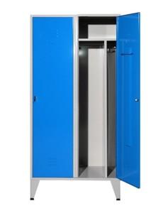 Vestiário duplo limpos e sujos com divisória vertical com 1900(A)800(L)500(P) pés mm