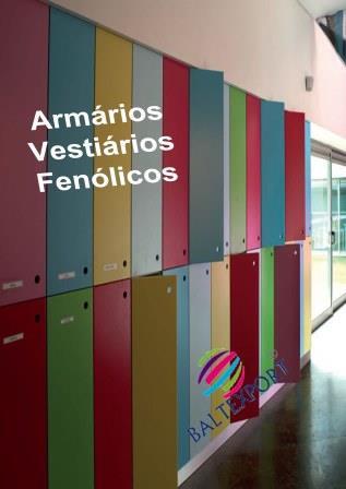 Armários Vestiário em Fenólico - Catálogo