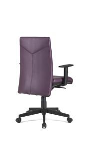 Cadeira Anouk, costa em espuma moldada, mecanismo sincronizado com possibilidade de bloqueio em cinco posições e regulação da costa em altura BAN.500