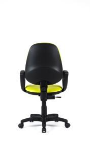 Cadeira Buga, costa alta, mecanismo de contacto permanente, sistema de elevação simples BBU.210