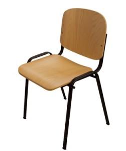 cadeira fixa madeira faia