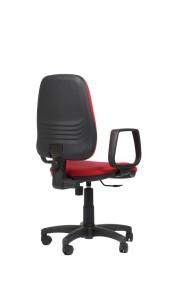 Cadeira Clássica, costa alta, mecanismo de contacto permanente, sistema de elevação simples sem par de braços BCL.210