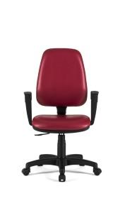 Cadeira Clássica, costa alta, mecanismo de contacto permanente, sistema de elevação simples.
