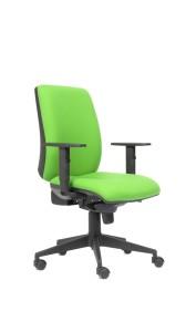 Cadeira Cosmos, costa alta, mecanismo sincronizado com possibilidade de bloqueio em cinco posições, com regulação da costa em altura BCO.500