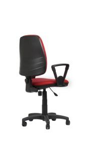 Cadeira Duny, costa baixa, mecanismo de contacto permanente, sistema de elevação simples BDU.110