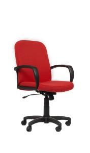 Cadeira Lester, costa média, mecanismo oscilante com possibilidade de bloqueio em duas posições, Par de braços incluído BLE.501